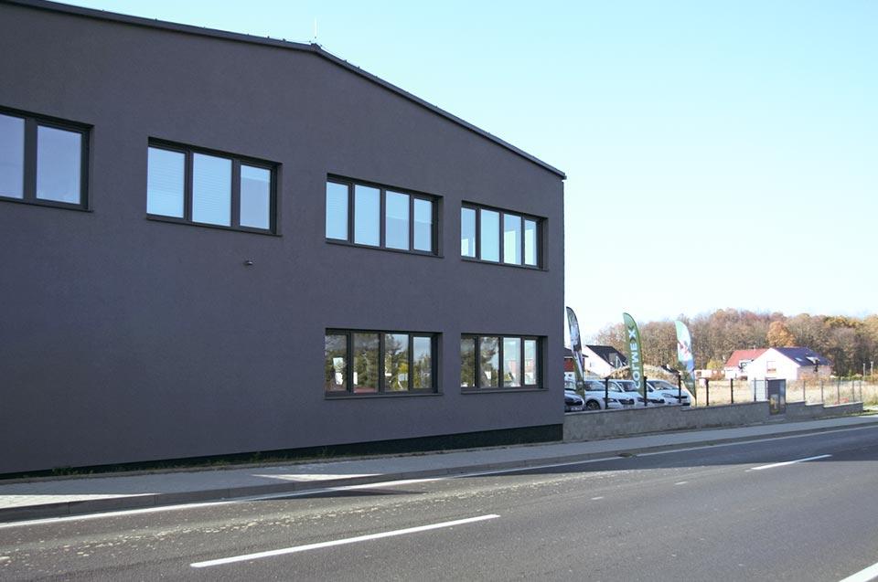 Colmex - naše kancelář a sklady